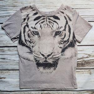 H&M 4-6y tiger shirt